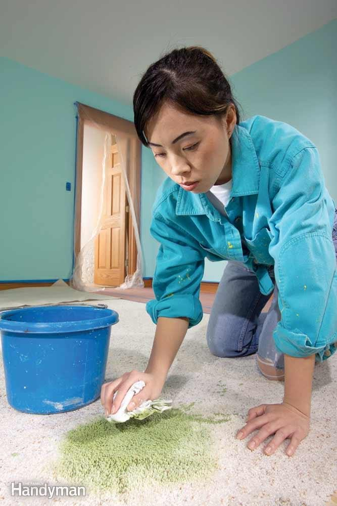 Fast Blotting Will Save Your Carpet