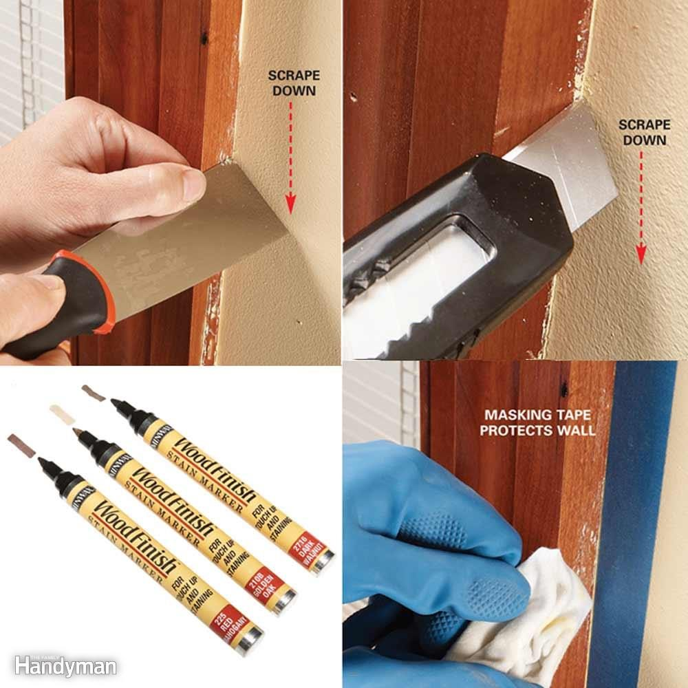 Remove Dried Paint Drips