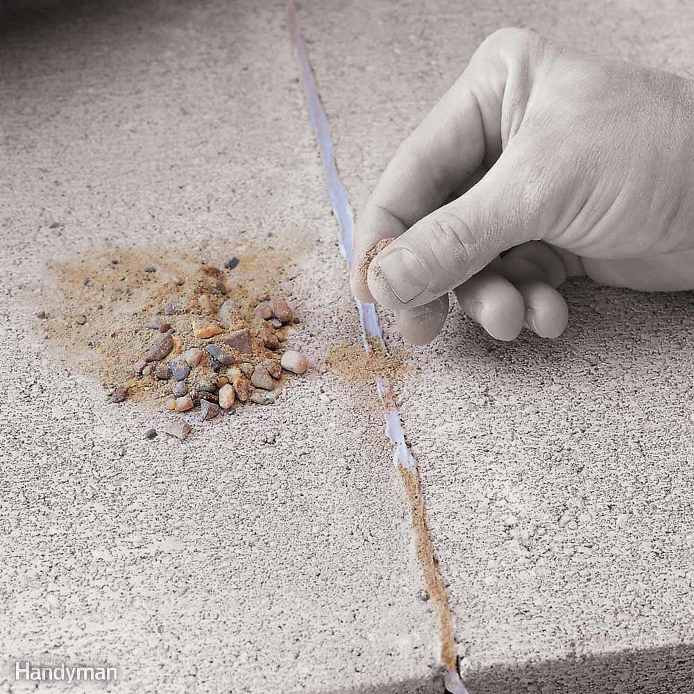 Disguising Caulk on Concrete