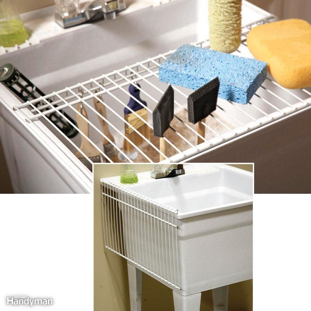 Utility Sink Shelf