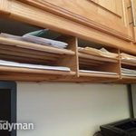 How to Build Shelves From Dowels