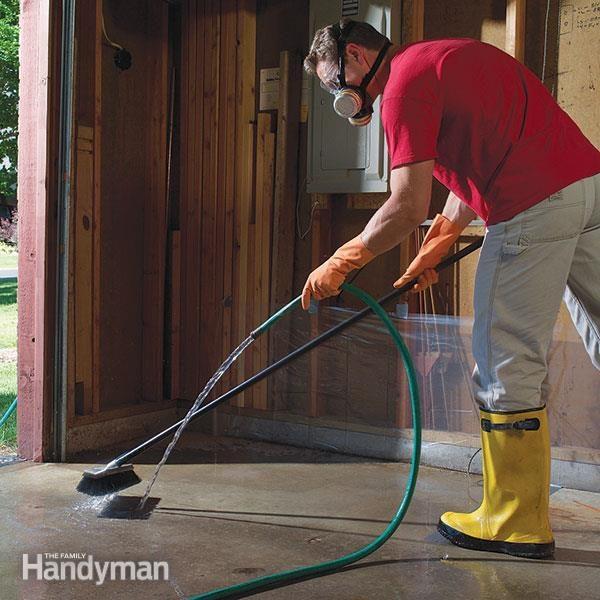 Cleaning Concrete Flooring