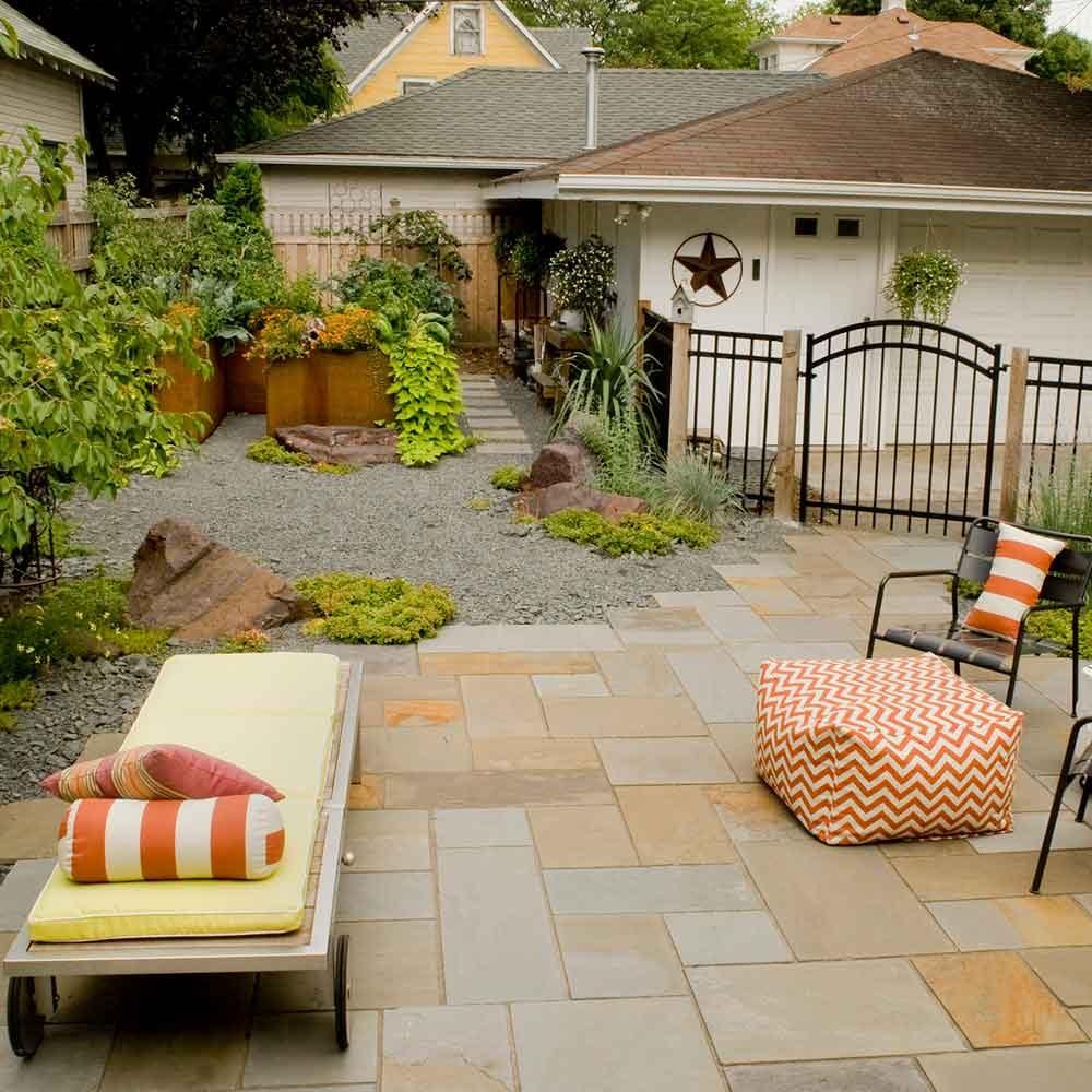 Hot Summer Courtyard