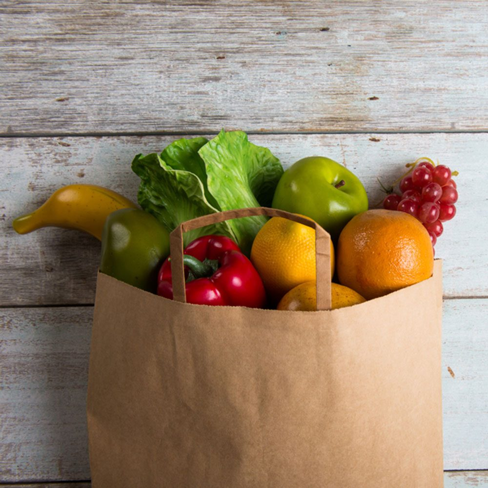 Alternative to Plastic Bags: Paper Grocery Bags