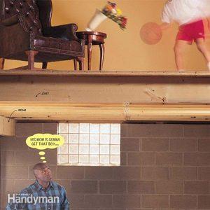 Fixing Bouncy Floors