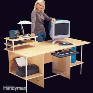 Simple Modern Computer Desk