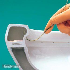 Fixing a Double Flushing Toilet