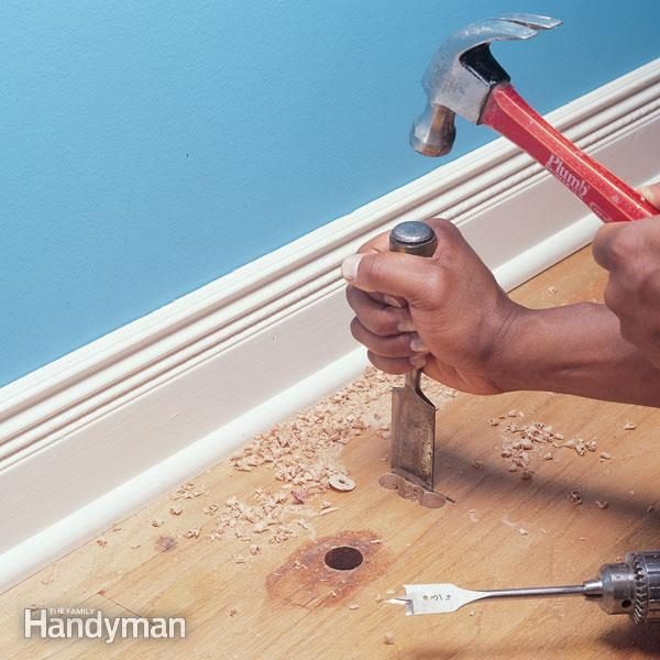 hardwood floor repair