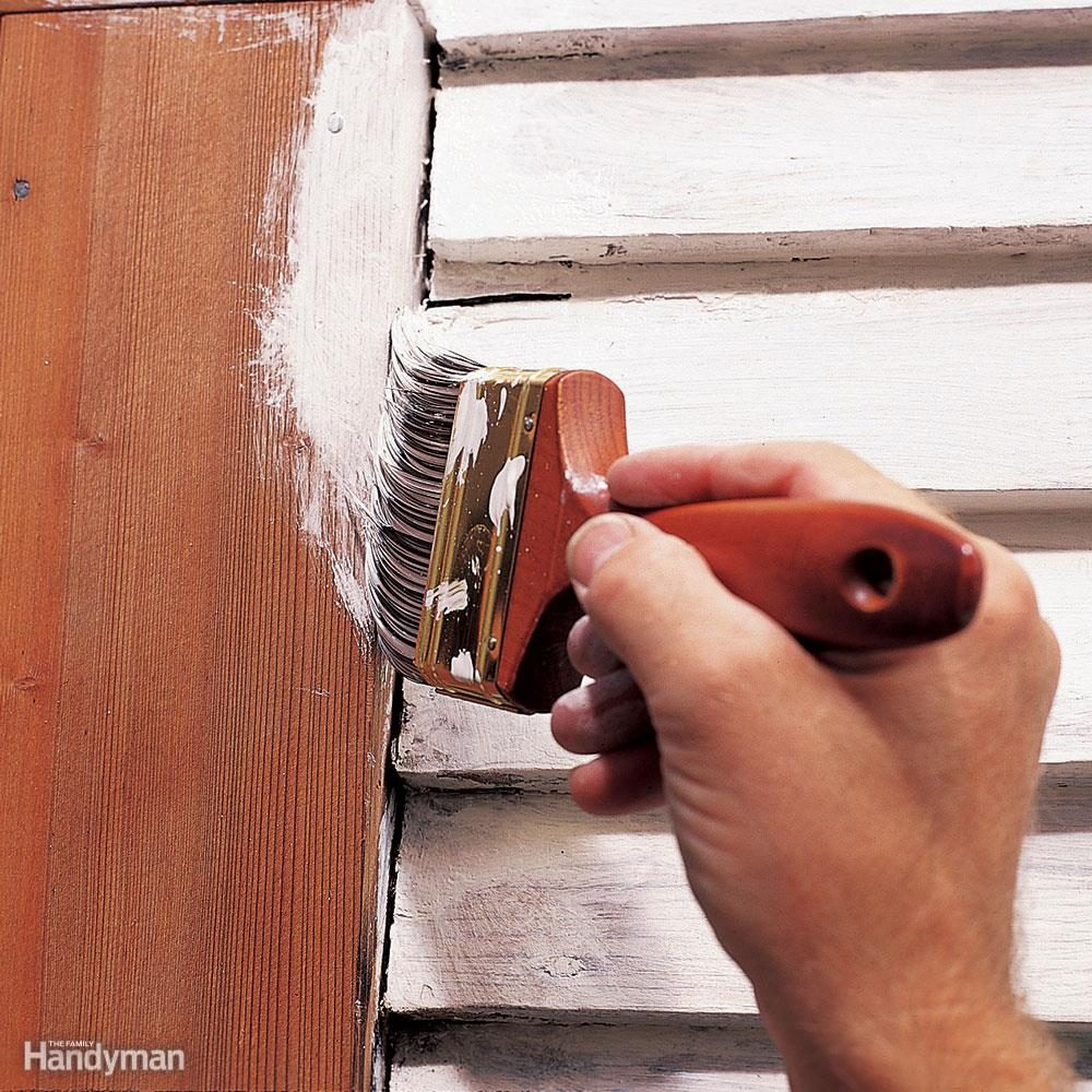 Will you prime before caulking and painting?