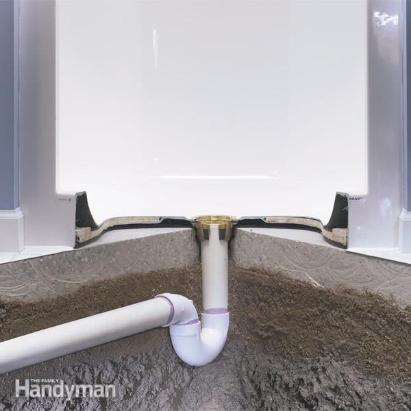 how to install a shower stall,