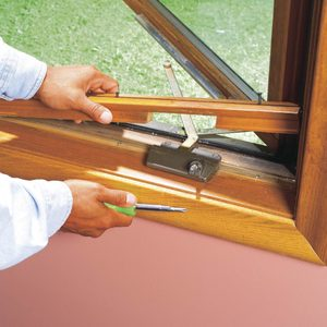How to Replace a Casement Window Crank Operator