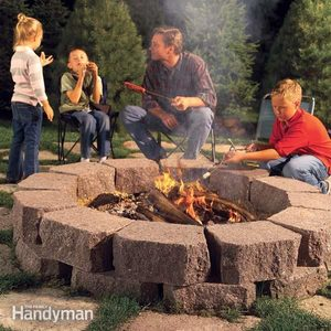 How to Build a Stone Fire Ring