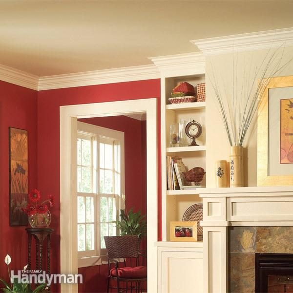 Crown molding installation