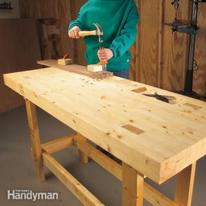 Build a Workbench On a Budget