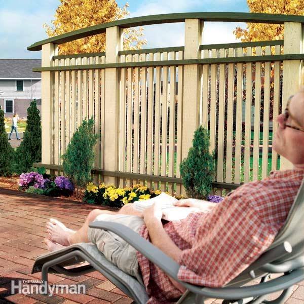 outdoor patio privacy screen