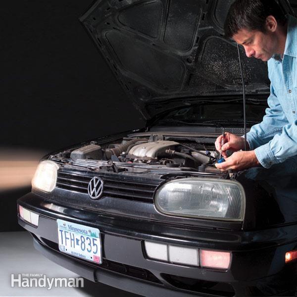repair a broken auto light socket