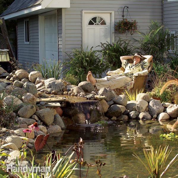 How to build a pond how to make a pond
