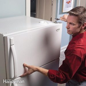 Straighten Sagging Refrigerator Doors