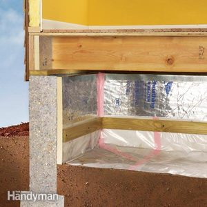 How to Install a Vapor Barrier in a Crawlspace