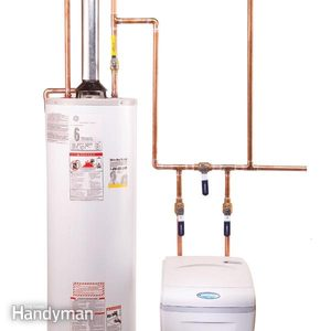 How to Plumb a Water Softener