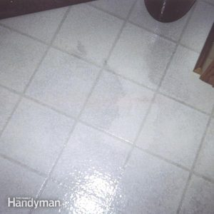 Vinyl Floors Stains