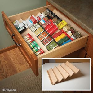 Clever Kitchen Cabinet & Pantry Storage Ideas