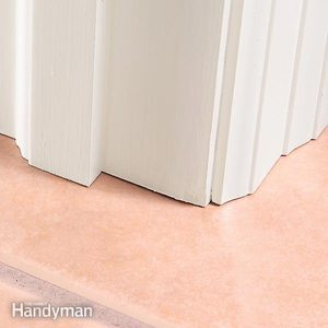 Entryway Floor Tile Installation