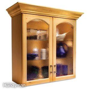 Convert Wood Cabinet Doors to Glass