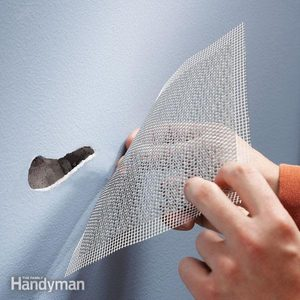 Use Aluminum Mesh for Fast Drywall Repair