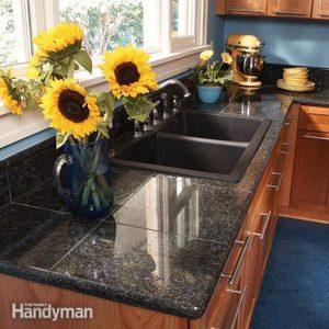 Granite Countertops: How to Install Granite Tile