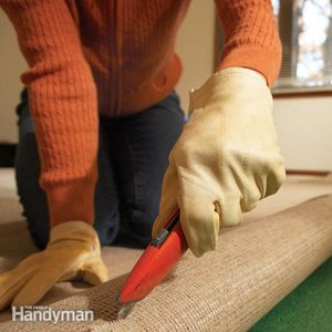 Removing Old Carpet