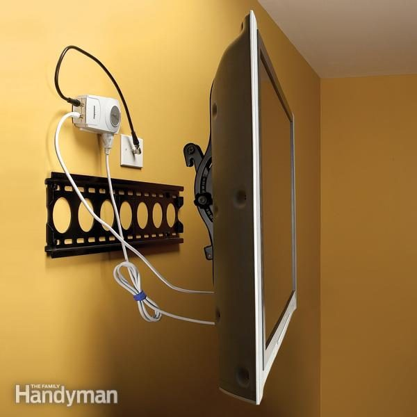 surge protector for wall mounted TV