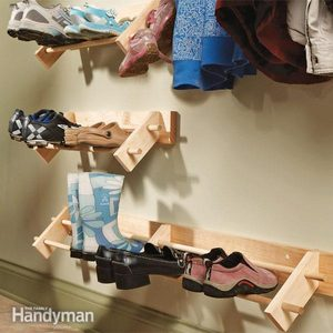 Build a Shoe Organizer