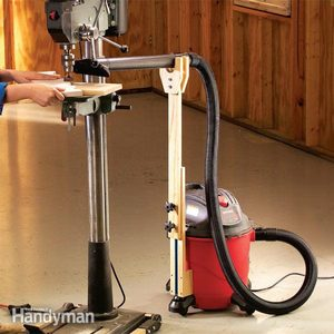 Vacuum Attachment for Adjustable Dust Control