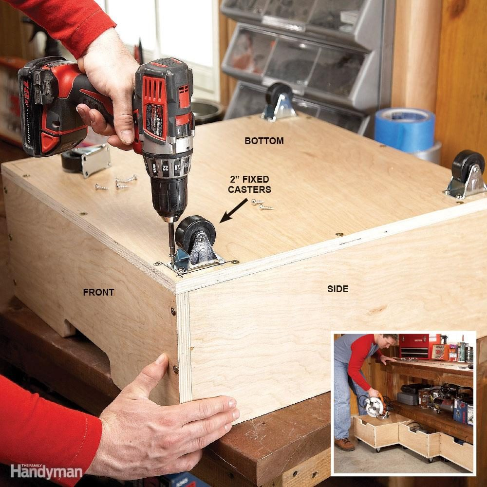 Easiest add-on drawers