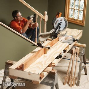 How to Build a Miter Saw Table