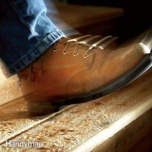 Step Repair: Fix Slippery Stairs