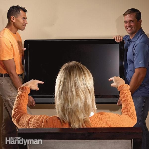 How to wall mount a TV wall mounted tv