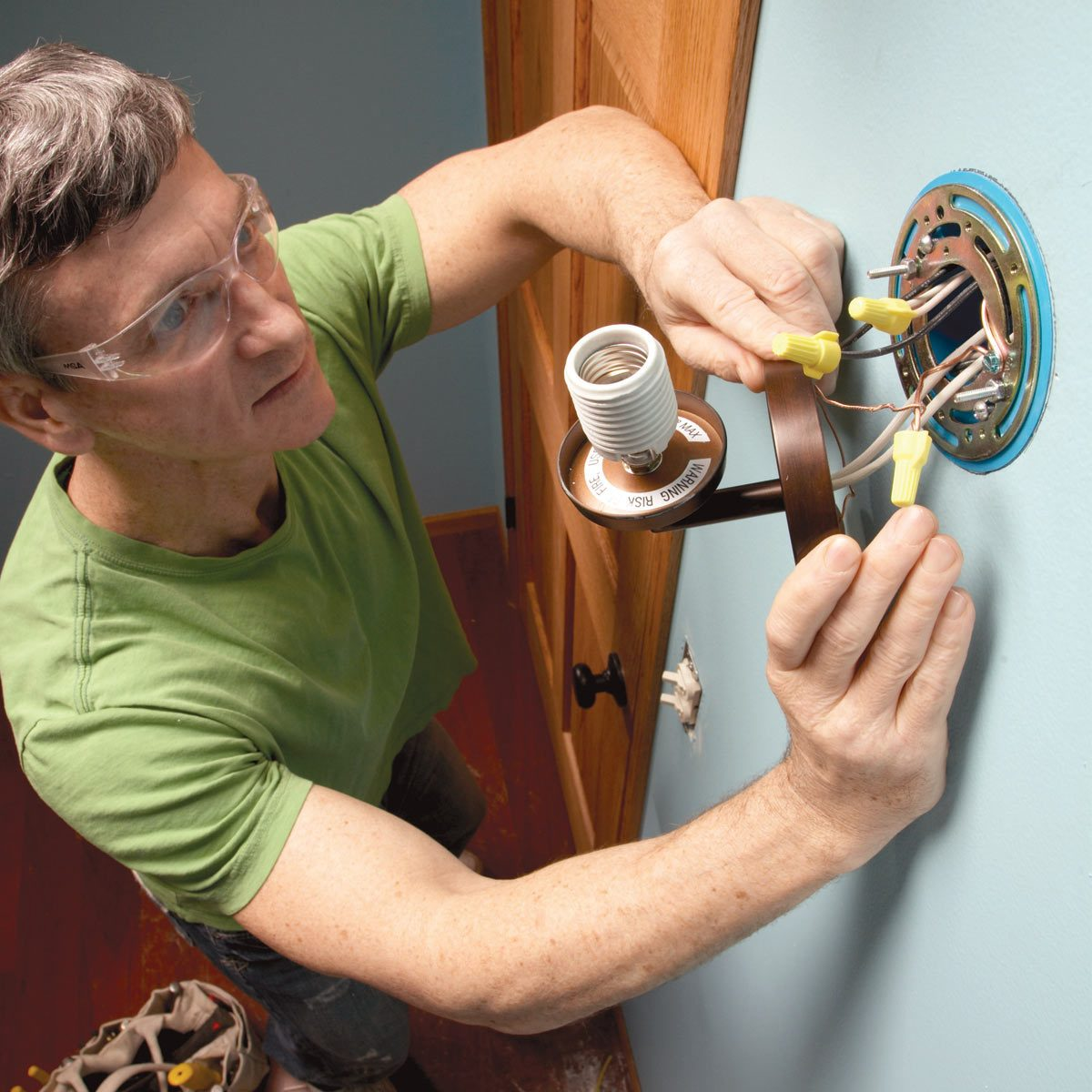 install a new light fixture featured image