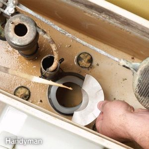 Fix a Running Toilet and Toilet Flapper