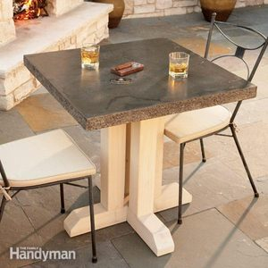How to Build an Outdoor Table