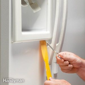 Refrigerator Repair: Fix a Broken Water Dispenser Switch