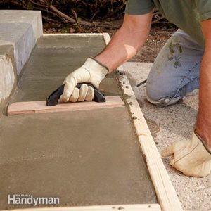 Repair or Replace – Pouring Concrete Steps