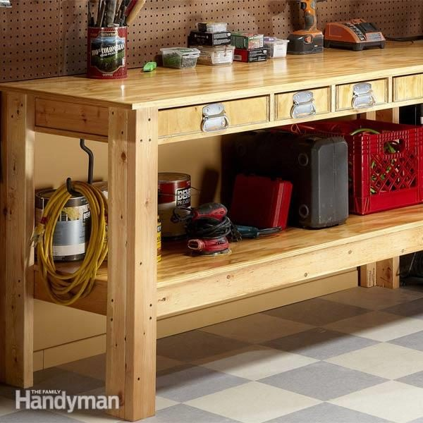 simple work bench plans