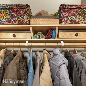 Build Twin Closet Shelves