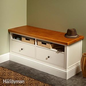 Ikea Hemnes Hack: Built-in Bench