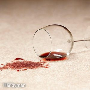 How to Get Red Wine, Coffee & Tomato Sauce Stains Out of Carpet