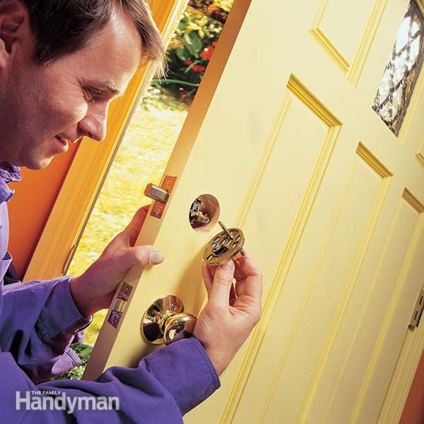 How to Install a Deadbolt Lock