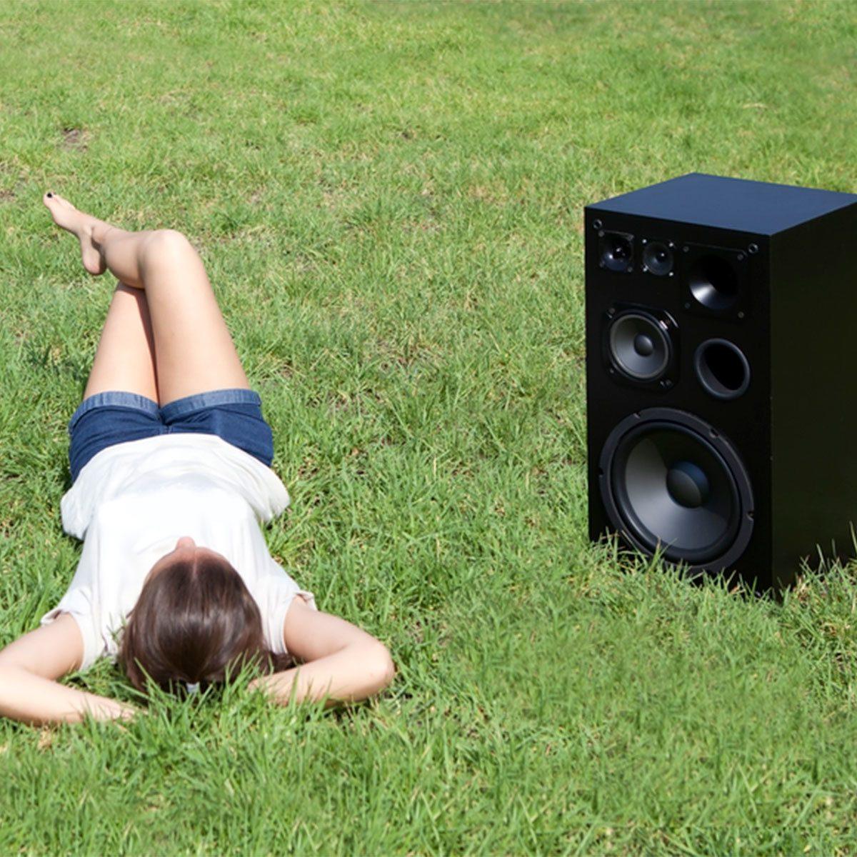 Speakers for Your DIY Outdoor Projector Screen