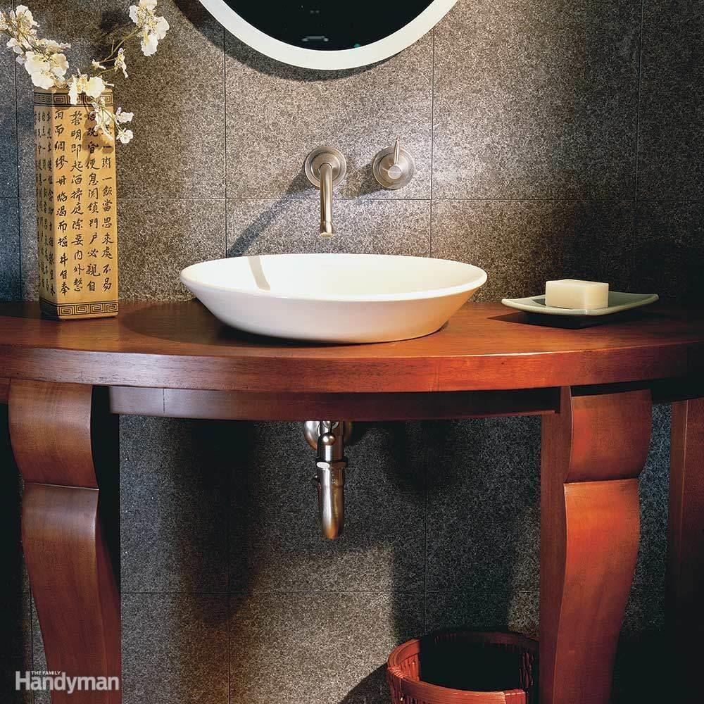 Elegant half bath